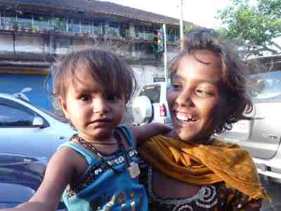 urmila & sheela smile